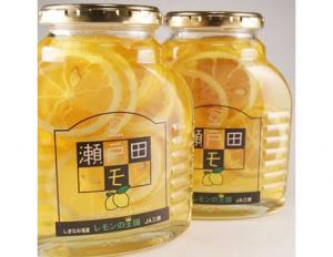 瀬戸田レモンのはちみつ漬け 470g×2瓶