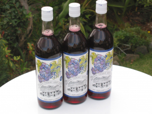 ふらのぶどう果汁(赤) 720ml×3本