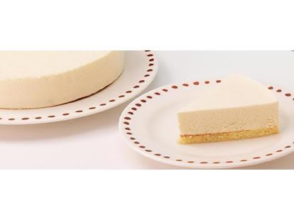 千本松牧場のレアチーズケーキ