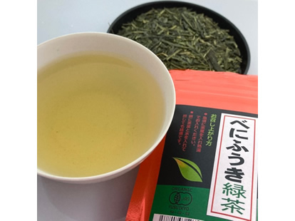 有機べにふうき 緑茶50g×3袋