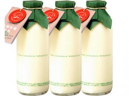 中洞牧場の牛乳 720ml×3本