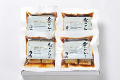 斉吉商店の「金のさんま」190g×4袋