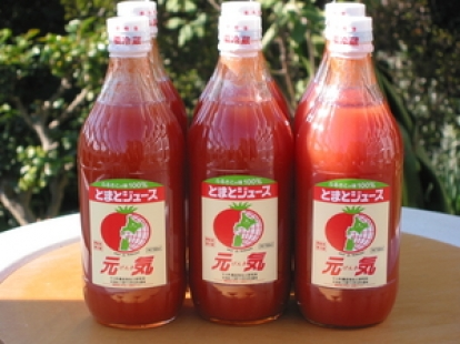 北海道下川のトマトジュース 元気 500ml×6本