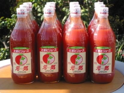 北海道下川のトマトジュース 元気 500ml×6本×2ケース