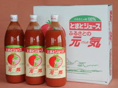 下川トマトジュース1000ml 3本