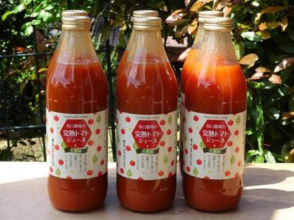 谷口農場の完熟トマトジュース1ケース