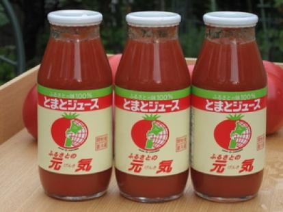 下川トマトジュース 元気 180ml×30本