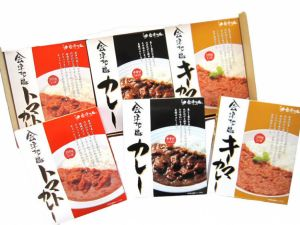 会津地鶏カレー3種詰合せ