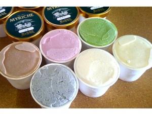 駒ケ岳牛乳のアイス