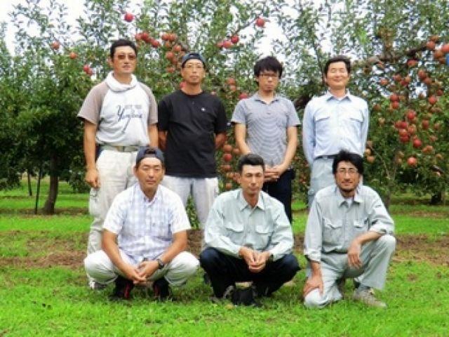 「津軽りんごくらぶ」 若手りんご農家7軒が会員です